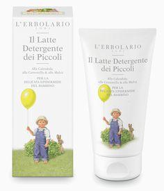 Il Latte Detergente dei Piccoli Alla Calendula, alla Camomilla & alla Malva http://www.erbolario.com/prodotti/654_il_giardino_dei_piccoli_2014_il_latte_detergente_dei_piccoli