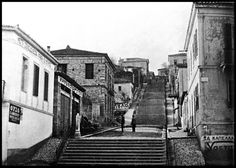 παλια πατρα φωτογραφιες - Κλιμακωτή οδός Crete, Athens, Old Photos, Street View, Patras, Vintage, Roots, Memories, Old Pictures