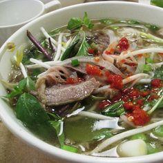 Pho Soup (vietnamese) - especially good when you're sick.