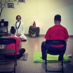 Comenzando la meditación zen del día de hoy en Imepp #meditación #zen #sábadopararelajarse #imepp_ac http://ift.tt/2wEwNzE