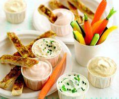 Garlic Pitta Breadsticks | Annabel Karmel