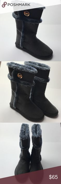 a843dc1499b Brand New Micheal Kors Gray Fur Boots Size 8 These are brand new gray  Michael Kors