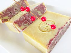Holiday soap, Black Currant Soap, Olive Oil Soap Bar, Homemade Gifts, Holiday Gifts, Soap Gifts, Cold Processed Soaps, Made in Michigan