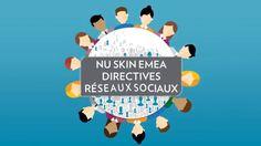Directives concernant les réseaux sociaux de Nu Skin EMEA