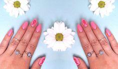 Die perfekten Pink Ribbon Nails | PerfectHair.ch Used Cloth Diapers, Family Outfits, Sensitive Skin, Beauty Hacks, Fragrance, Ribbon, Nail Art, Nails, Club