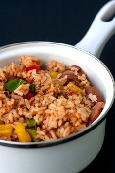 Red Shallot Kitchen: Confetti Dirty Rice