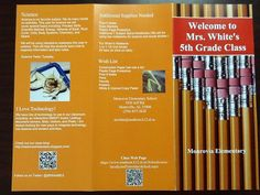 13 best Possible school brochure ideas images on Pinterest     Back to school Brochure 1 by shaddybaby  via Flickr