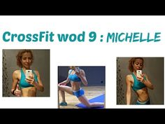 MICHELLE WOD 9 : CrossFit Challenge: Strong, Lean, Toned Arms And Total Body Toning Workout - YouTube