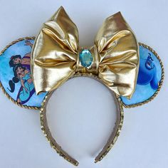 Aladdin Inspired Micky Mouse ears