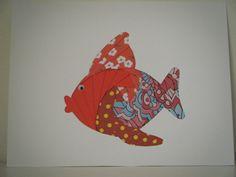 paper iris fish