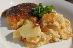 What's Cookin' Italian Style Cuisine: Guinness Scallop Cheddar Bacon Potatoes Recipe