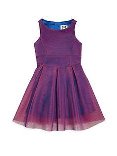 MILLY MINIS - Girl's Organza Mesh Dress
