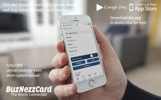 Buznezzcard mockup www.buznezzcard.com #Buznezzcard #businesscard #visitekaartje #addressbook #crm