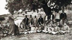 Bir Köy Enstitüsünde açık hava dersi, 1941