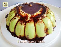 Budino al pistacchio con biscotti farciti e Nutella Blog Profumi Sapori & Fantasia