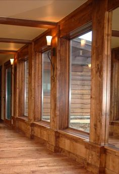Knotty Alder Trim | Bridger Forest Products. I could so see these windows going with me new pool!