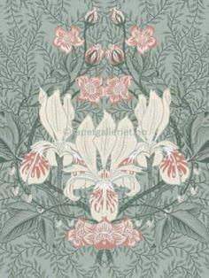 Tapetgalleriet Siri, William Morris, Damask, Flora, Vintage World Maps, Wonderland, Ornament, Arts And Crafts, Tapestry