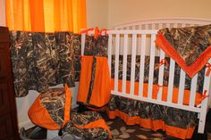 camouflage baby bedding I was this for future baby boy. especially carseat Camouflage Baby, Baby Boy Camo, Camo Baby Stuff, Camo Crib Bedding, Baby Crib Bedding Sets, Crib Sets, Nursery Bedding, Baby Boy Cribs, Baby Boy Nurseries