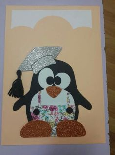 Sevimli mi sevimli mezun penguen...