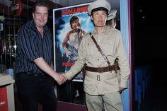 Life For Mile Actor Stephen Chang & Hope Cinema-Owner Kevin Larson, Rambo Bridge Final Take in Hope BC Bid an Emotional Farewell with Nostalgic Fans As Actor Stephen Chang Promoted New Movie 'Life For Mile'. www.hopebc.ca