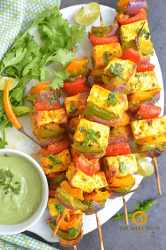 This is the best Tandoori Paneer Tikka you'll ever make at home! Same restaurant style taste, but making them our Air Fryer ! Supper Recipes, Chef Recipes, Spicy Recipes, Healthy Recipes, Sweets Recipes, Tandoori Paneer, Marinated Cheese, Vegetarian Appetizers, Vegan Vegetarian