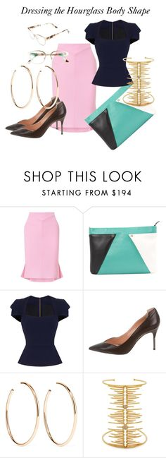 """""""Dressing the Hourglass Body Shape"""" by christinepower on Polyvore featuring Roland Mouret, Jennifer Fisher, Joanna Laura Constantine and Derek Lam"""