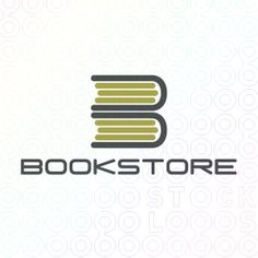 Book logo from www.stocklogos.com This could be cute with two stacks... the first stack turned the other way for an M and this stack for a B. Library Logo, Corporate Id, Book Logo, Make Your Own Logo, Education Logo, App Logo, Best Logo Design, Logo Maker, Creative Logo