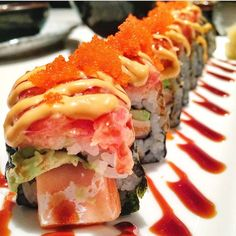 Gorgeous Sushi Plate