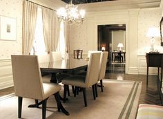 Charlotte York S Apartment From And The City Dining Room Study