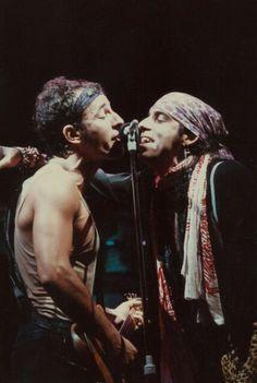 Bruce Springsteen and Little Steven