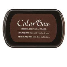 ColorBox Archival Dye Ink Pad, Mudslide