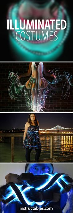 Wearable illumination is a guaranteed way to make your Halloween costume the star of the show.