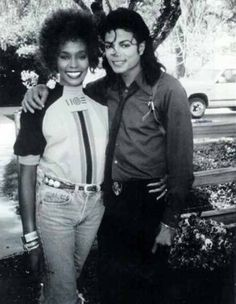 Whitney Houston  Michael Jackson