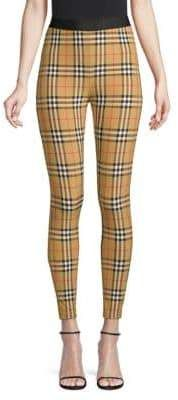 6f828847138600 Burberry Vintage Check Leggings. From the Saks IT LIST. MAD FOR PLAID. See