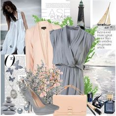 Browse and shop related looks. Light Spring, Soft Summer, Spring Outfits, Fashion Looks, My Style, Polyvore, Clothes, Pastels, Neutral