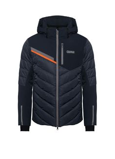 Waterproof men's ski jacket from Colmar Alpine with down padding - Colmar