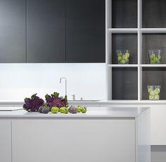 Eggersmann Modern Kitchen   Laminate Pure White