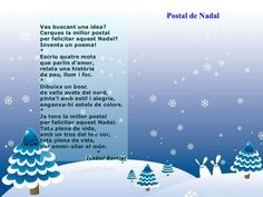 Poemes de nadal Xmas Poems, Fails, Education, Christmas, Album, Google, School, Party, Poems