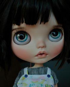"""Takara 12/"""" Neo Blythe RBL FACE SHELL no make up Factory Nude doll Custom parts"""