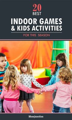 Scroll down to check out our list of some fun & entertaining indoor games for kids. These funny games will keep your kids entertained for hours together.