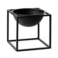 by Lassen - Kubus Bowl small Black