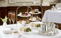 From scones at the Ritz to cakes at Betty's: to mark National Afternoon Tea   Week, we pick the best places to enjoy this fine English tradition in the UK
