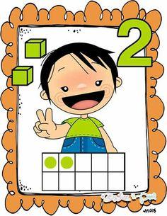 Free Math Guide To Preschool Classroom Decor, Numbers Preschool, Learning Numbers, Preschool Math, Math Classroom, Kindergarten Math, Classroom Themes, Math Activities, Teaching Aids