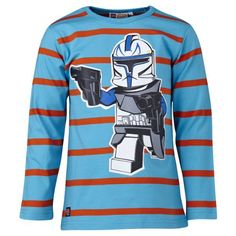 LEGO Wear - Camiseta de Star Wars para niño, talla 11 años (146 cm), color turquesa #camiseta #realidadaumentada #ideas #regalo
