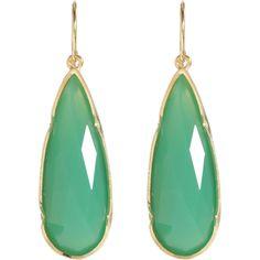 irene neuwirth: chrysaprase teardrop earrings | only $3,260.