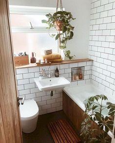zen Bathroom Decor Beautiful Color Scheme for Your Bathroom Bad Inspiration, Bathroom Inspiration, Bad Styling, Bohemian Bathroom, Bohemian Decor, Modern Bohemian, Vintage Bohemian, Modern Vintage Bathroom, Bohemian House