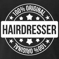 Hairdresser T-shirts - Mannen Premium T-shirt