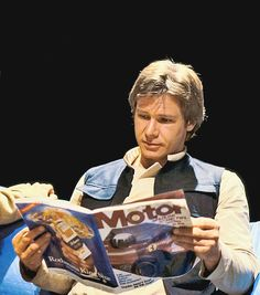 """Harrison Ford (behind the scenes of """"STAR WARS: Episode VI - Return of the Jedi"""", 1983)"""