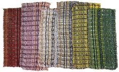 6 samples for curtain material<br /> 1930<br /> each ca. 7x15 cm<br /> Private collection