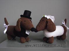 Teckel bruiloft